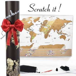 scratch off map of the world track your travel adventures white elegant design usa map with states world map poster with flags accessories great